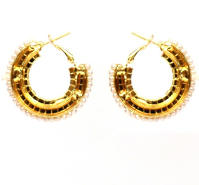 Hanishka Alloy Hoop Earring