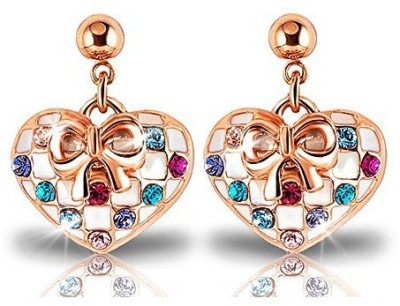 Ariette Jewels Copper Drop Earring