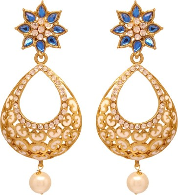 Vendee Fashion Stylish Collection Copper Drop Earring