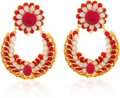 Nazakat J09A8326 Alloy Chandbali Earring