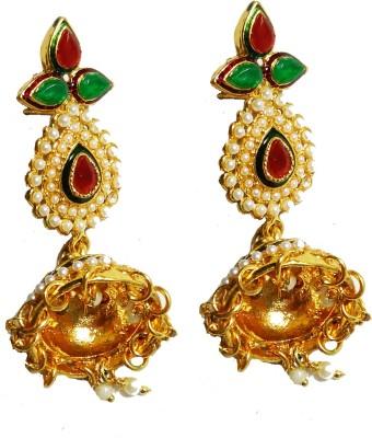 NEHASTORE Designer Gold Plated Jhumki Earring Alloy Jhumki Earring