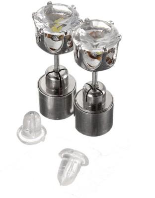 Llc Innovation Purple Sparkle Metal Stud Earring