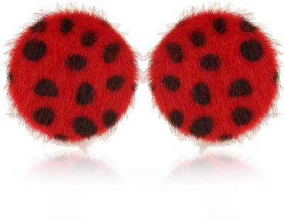 Moedbuille Red Stud Earrings [MBER00370] Cubic Zirconia Alloy Stud Earring