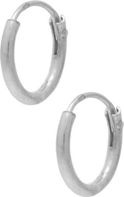 Gemshop CUTE STERLING 92.5 Silver Hoop Earring
