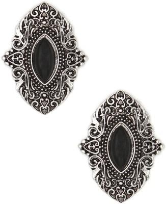 Madclozet Desi Swag Metal Stud Earring