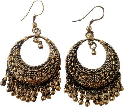 Gennext GNT-AANTIQUE Acrylic Chandbali Earring