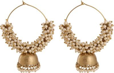 Voril Fashion Alloy Jhumki Earring, Dangle Earring