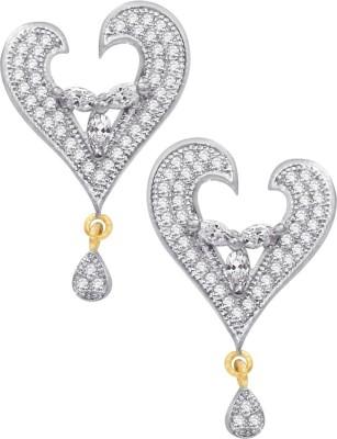 Kolkata Market Spring Sparkle Cubic Zirconia Alloy Drop Earring