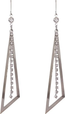 Super Drool Crystals Chain Alloy Drop Earring