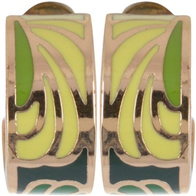 Waama Jewels Golden Brass Earring best for girl engagement Metal Earring Set