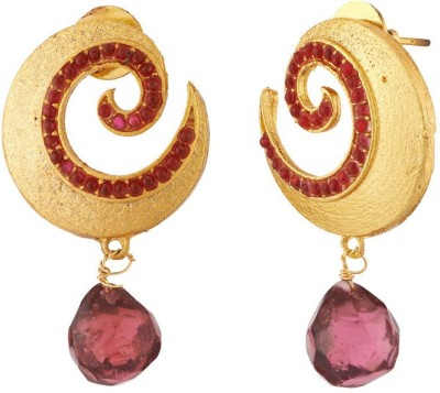 Ratnaraj India Beautiful Design Traditional and Antique Copper Chandelier Earring