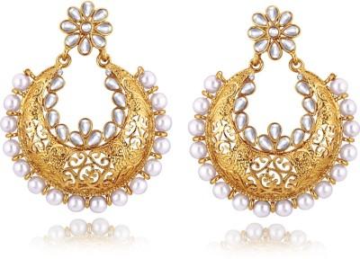 Alamod ALER 5046 Brass Chandelier Earring