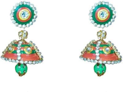 NKL Creations NKL Creations qj32 Paper Jhumki Earring