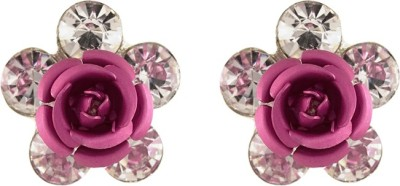 Aahaan Rose-ER_01 Alloy Clip-on Earring