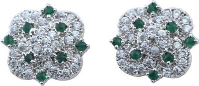 Waama Jewels Sparkle Beauty Cubic Zirconia Alloy Stud Earring