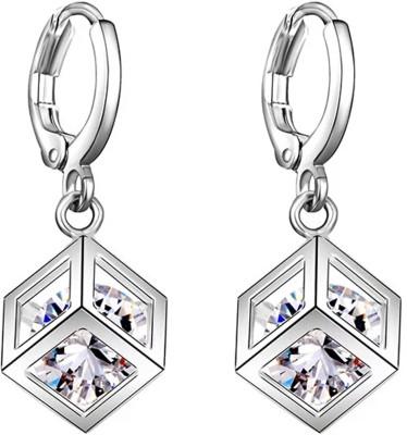 University Trendz Univ_E082 Crystal Alloy Clip-on Earring