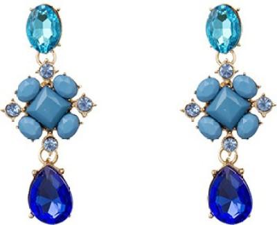 A Bit of Me Blue Infatuation Alloy Dangle Earring