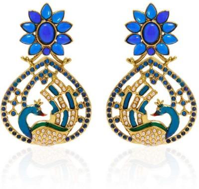 Jewels Guru New Look Alloy Chandelier Earring
