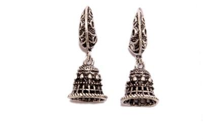Greek Sojourn F3B55 Brass Jhumki Earring