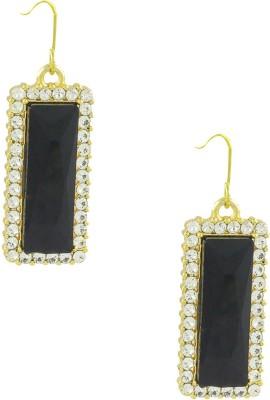 Savvy Ravishing Crystal Brass Drop Earring