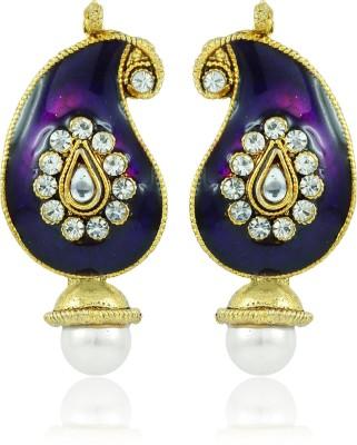 BoBell Indian Meenakari Sassy Kerri Copper Drop Earring