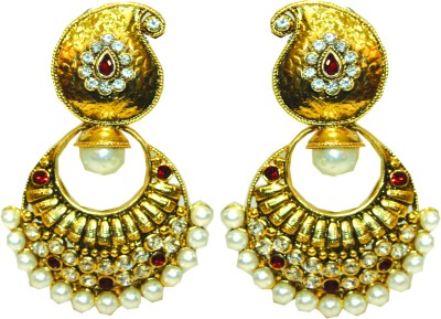 Bejeweled Copper Chandbali Earring