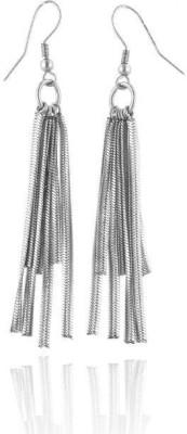 Netaya Spring Sparkle Stainless Steel Dangle Earring
