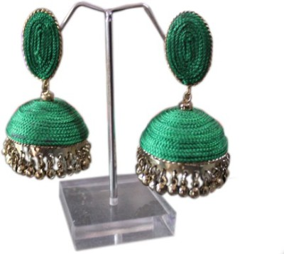 Aza Collections Dazzling Alloy Jhumki Earring