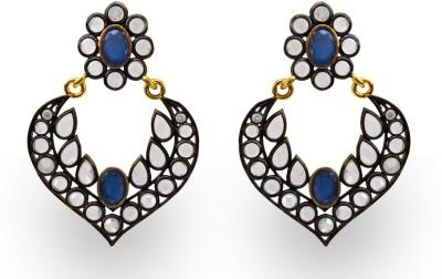 SuvidhaArts Stunning Fashion Cubic Zirconia Metal Chandelier Earring