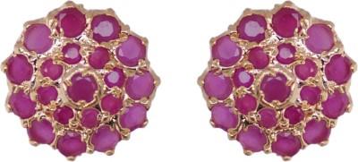 Janki Jewellers Fashion Cubic Zirconia Alloy Stud Earring