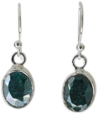 Aabhushan Aabhushajewels Beryl Sterling Silver Dangle Earring
