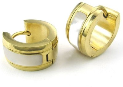 Vaishnavi High Quality UNISEX Never Rusts Stays Life Long made of 316L Titanium Stainless Steel Hoop Earring