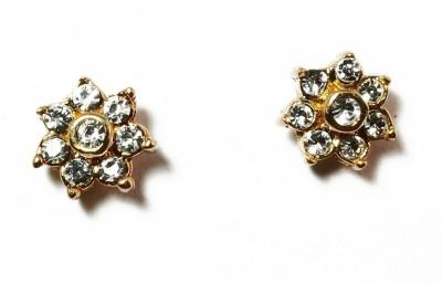 kanishq GOLD GLAMOUR Alloy Stud Earring
