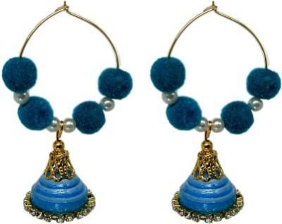 Sowbhagya Enterprises A1 Quilling Paper Jhumki Earring