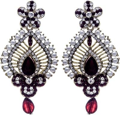 Silverkartz Princess Delight Cubic Zirconia Alloy Drop Earring