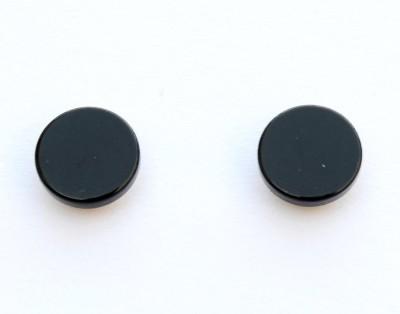 Solidindia Craft MensMegneticEarrings_0.5cm Metal Stud Earring