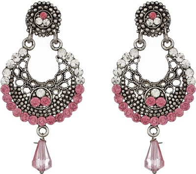 Match And Catch Spring Sparkle Acrylic Chandbali Earring