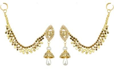 Suvini Style Diva Crystal Alloy Cuff Earring