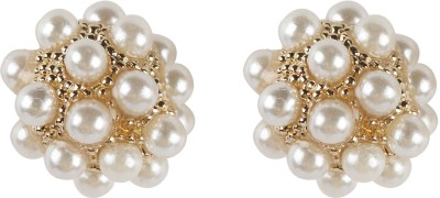 Narankha A Ball of Pearls Alloy Stud Earring