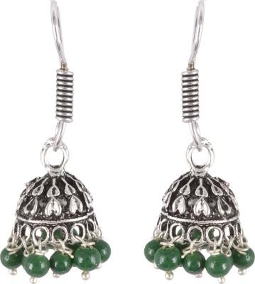 AGRIM DAZZLE Brass Jhumki Earring