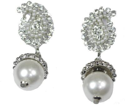 Navisha Fashionable Metal Drop Earring