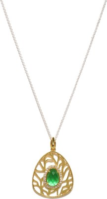 Anouk Enamel Plated Metal Necklace at flipkart