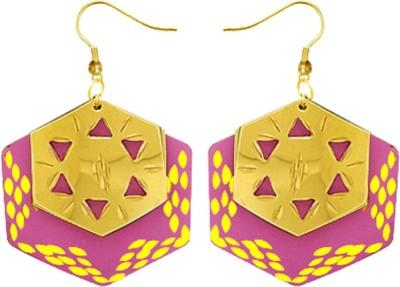Kenway Retail Fragrant Delight Brass Dangle Earring