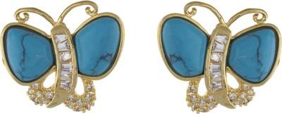 Classique DesignerJewellery Glossy Pearl Alloy Stud Earring