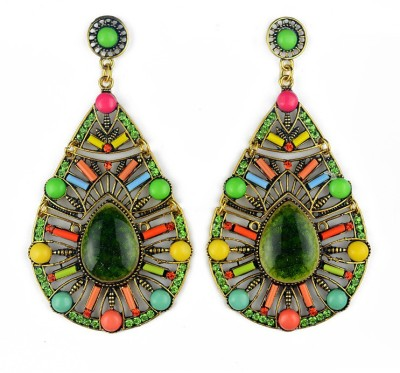 Insia Ethereal Spring Statement Fashion Earrings Alloy Drop Earring