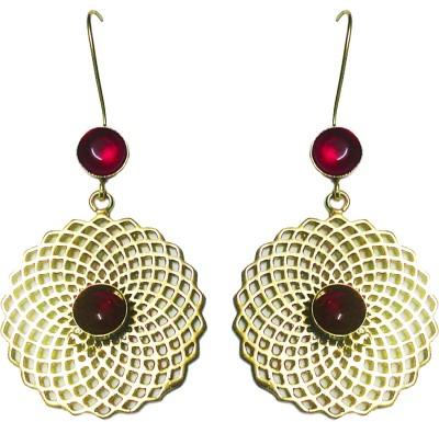 zenith jewels princess14 Brass Chandelier Earring