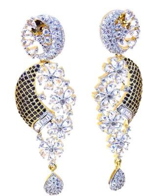 Aabhushan Jewels Fashion Cubic Zirconia Alloy Dangle Earring