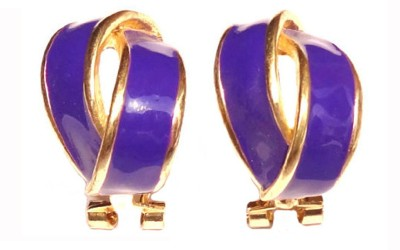Shreya Collection Spring Sparkle-Purple Alloy Stud Earring