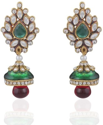 Adya Alloy, Enamel Drop Earring