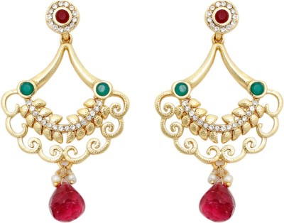 SBS Ravishing Alloy Chandelier Earring
